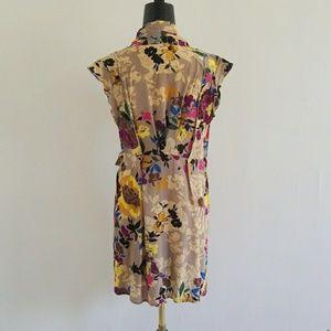 Anthropologie Dresses - ANTHRO {PINKERTON} silk floral rinzu dress